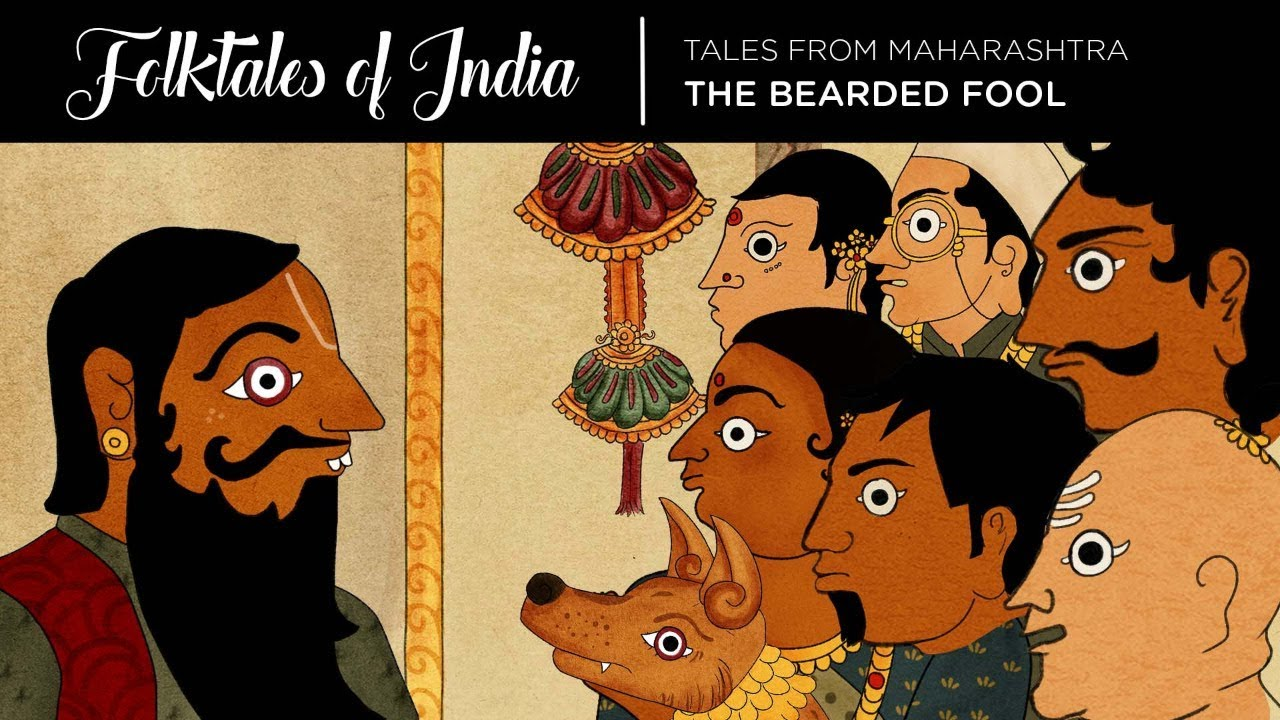 Folktales of India – Tales from Maharashtra – The Bearded Fool