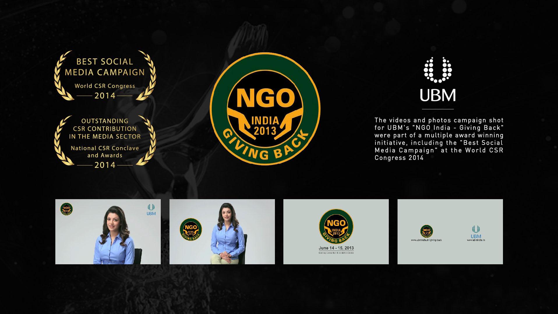 UBM – Giving Back Campaign