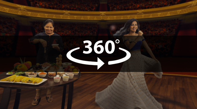 YouTube India Creators Masthead – 4K 360 degree Loop