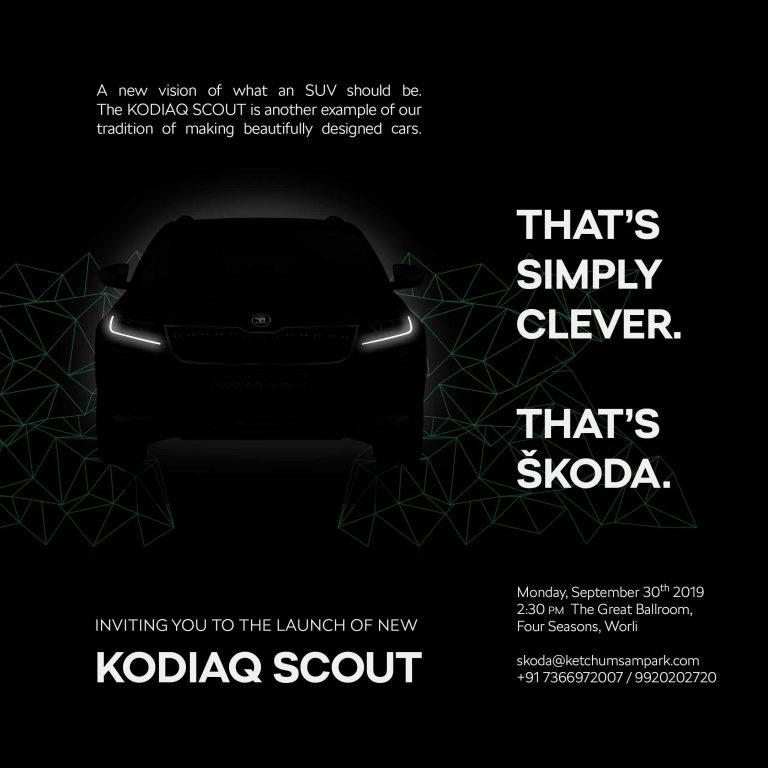 Kodiaq Scout invite