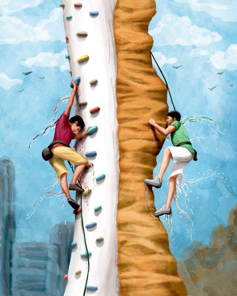 Climbing in India 11 Dec