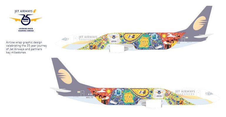 Jet Airways 25years
