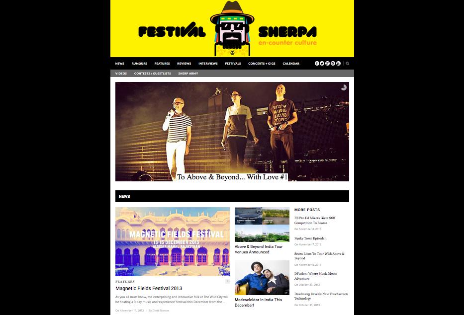 Festival Sherpa