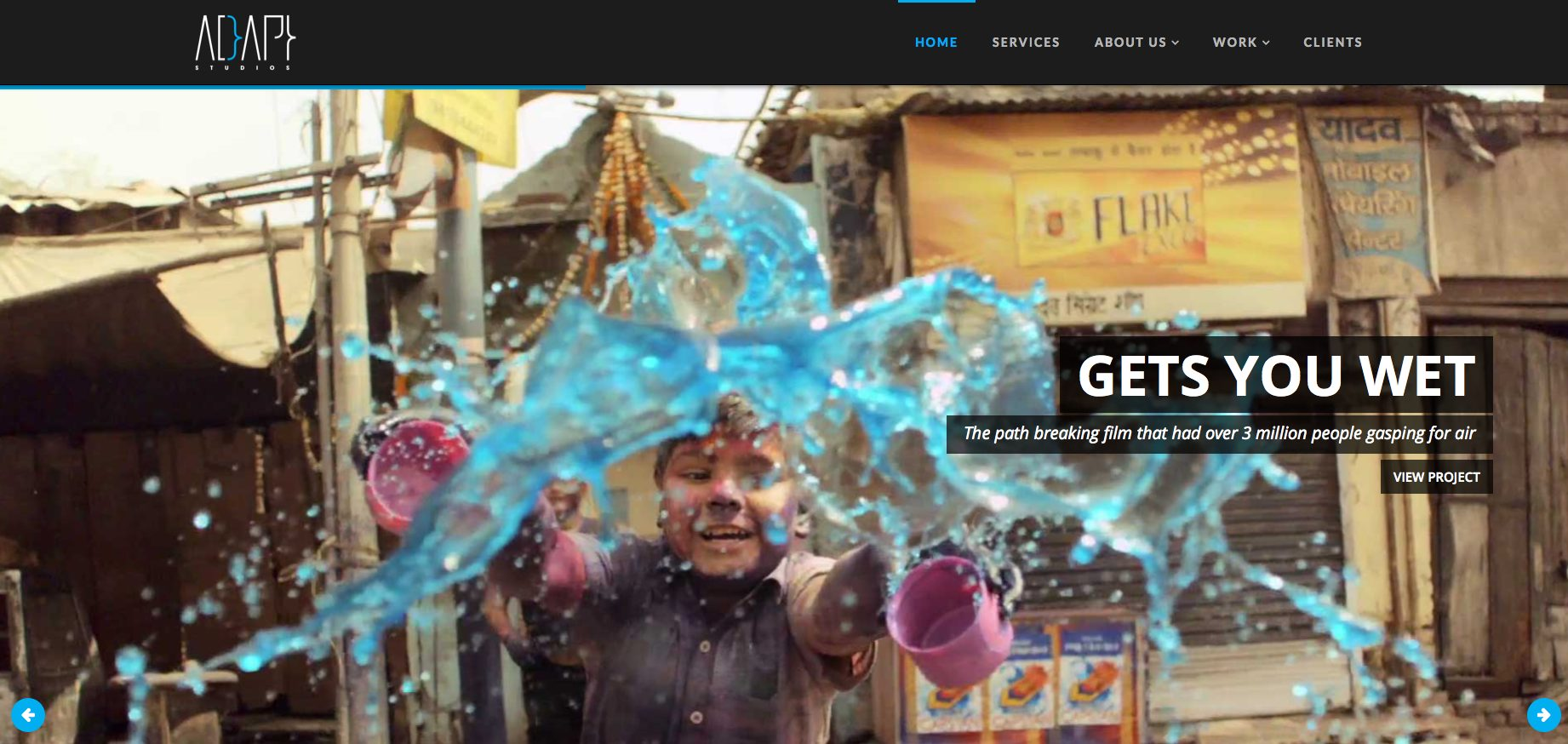 Adapt Studios Web design