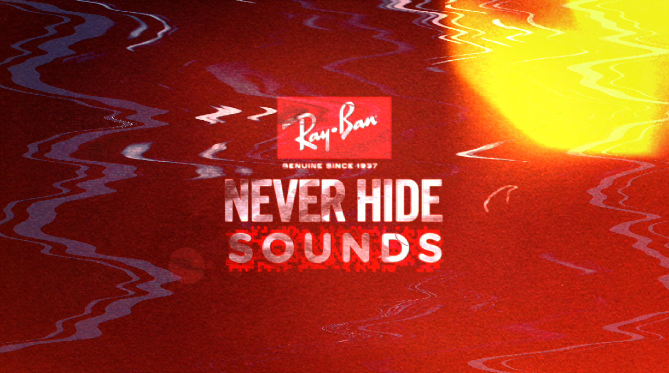 Ray ban never hide sounds season 4 show packaging