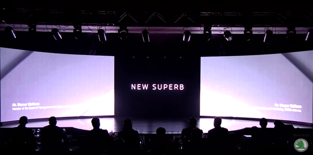 Skoda New Superb Launch Event Packaging and Graphics
