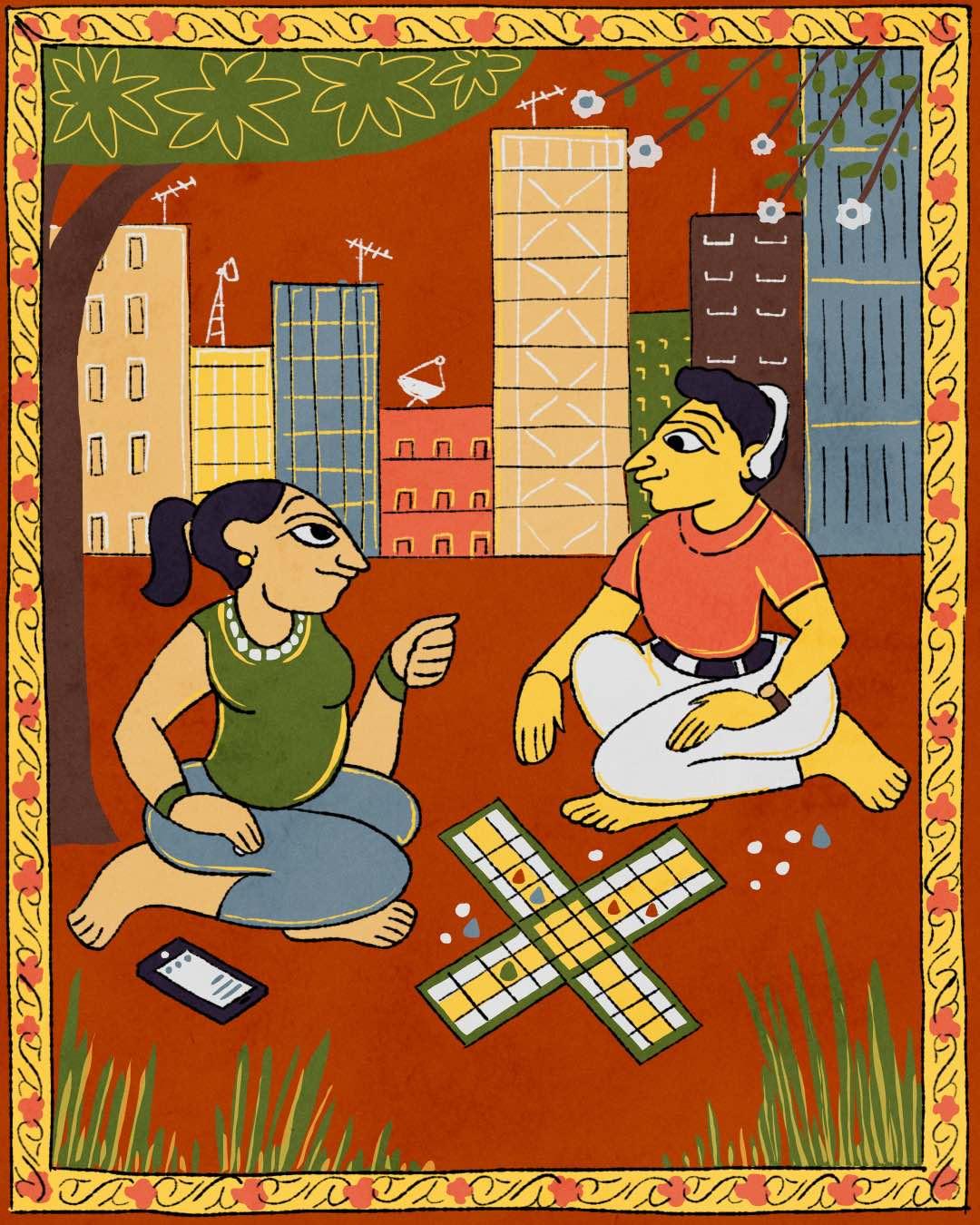 Traditional board games in India 20 Nov 18
