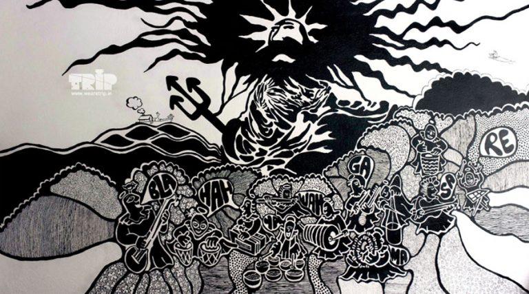 kailasa, Rec. room graffiti for Kailash Kher