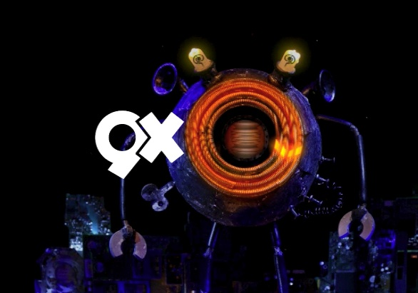 9XO Channel Packaging and Mascot