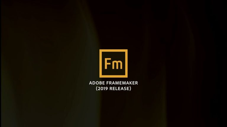 Adobe FrameMaker (2019 release) launch video