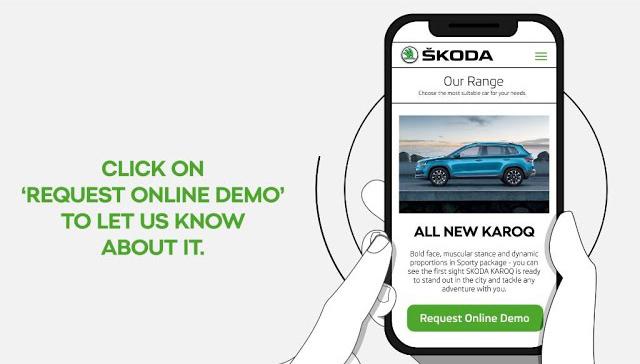 ŠKODA Contactless Virtual Demo Experience