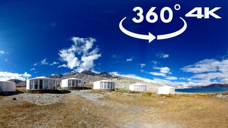 The Hermitage at Pangong Lake   360 4K