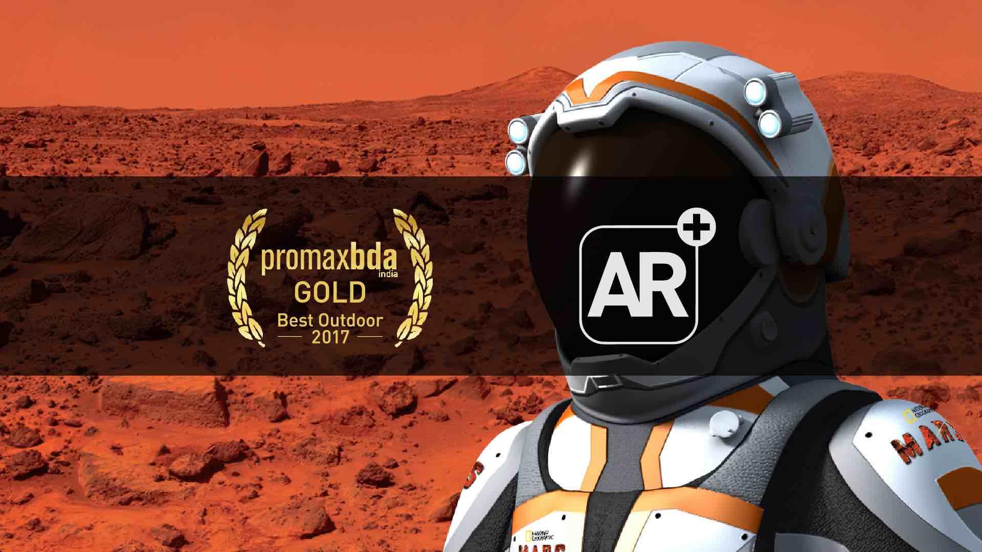 NGC – Mars – AR | PromaxBDA India 2017 Gold – Best Outdoor